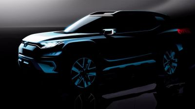 SSANGYONG SHOWCASES ITS XAVL MID-SIZE SUV CONCEPT AT GENEVA