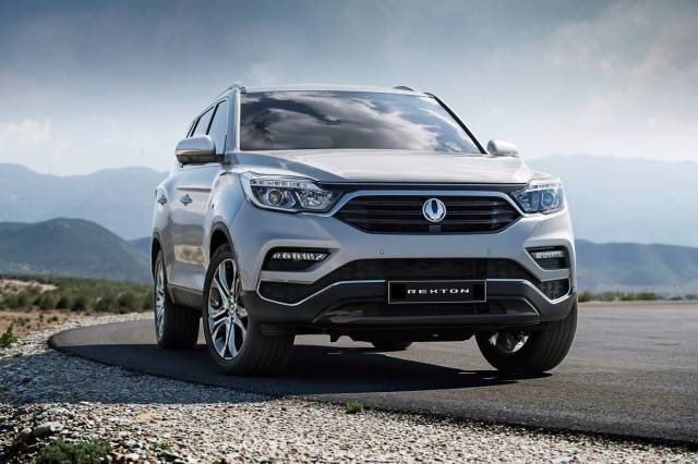 SSANGYONG CONFIRMS ITS NEW LARGE SUV TO BE CALLED REXTON