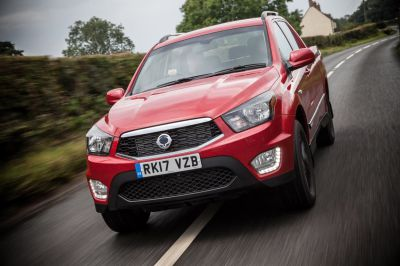 SSANGYONG MUSSO ONE-TONNE PICK-UP - NOW WITH 3.5 TONNE TOWING CAPACITY