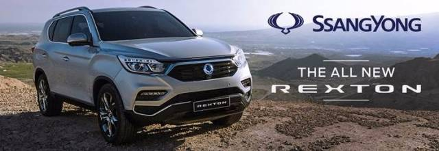 ALL-NEW SSANGYONG REXTON ARRIVES IN THE UK THIS OCTOBER