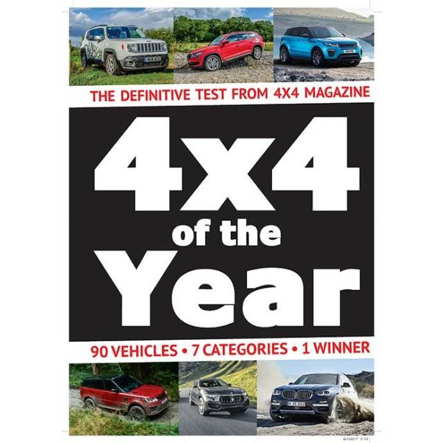 4x4 Of The Year 2018 - SsangYong Rexton