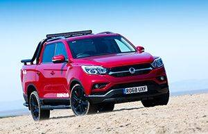INTRODUCING THE ALL-NEW SSANGYONG MUSSO - THE ONLY TRUCK TOUGH ENOUGH FOR A 7-YEAR WARRANTY