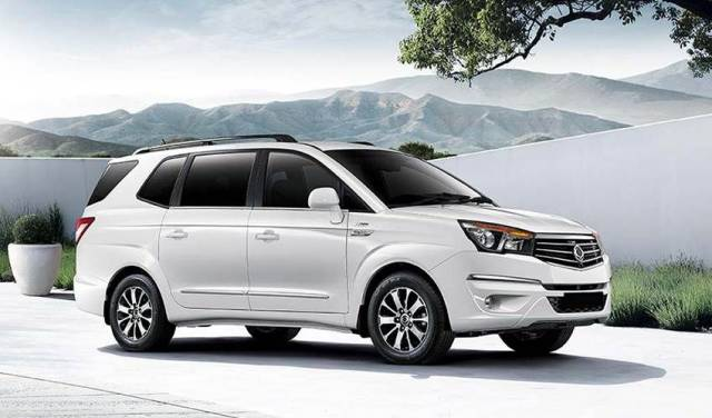 NEW-LOOK TURISMO MPV ANNOUNCED BY SSANGYONG