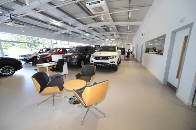 SSANGYONG 'DRIVES-ON' WITH NEW DEALER RECRUITMENT