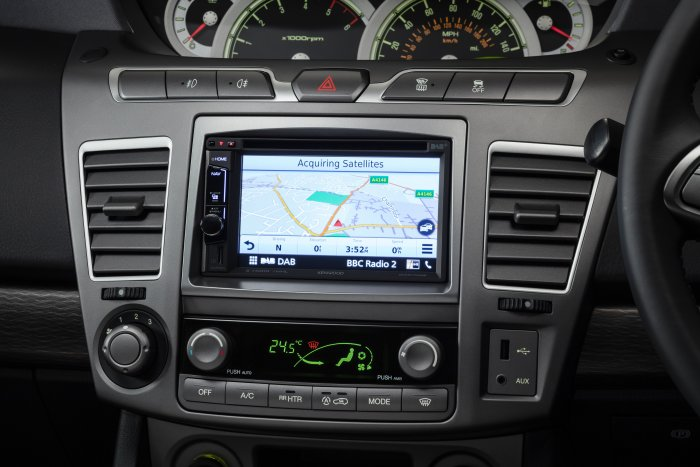 Kenwood DAB Touchscreen with Navigation