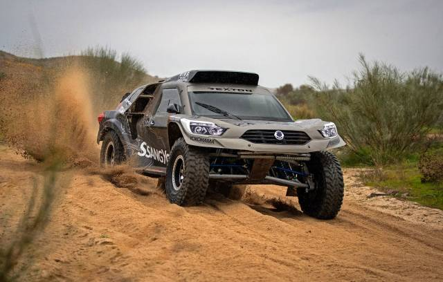 SSANGYONG REXTON DKR TO COMPETE IN THE 2019 DAKAR RALLY