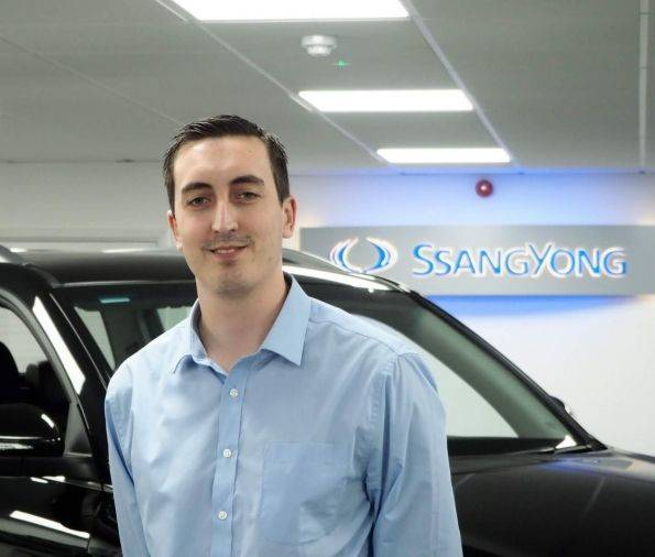 SSANGYONG STRENGTHENS AFTERSALES TEAM WITH NEW REGIONAL MANAGER