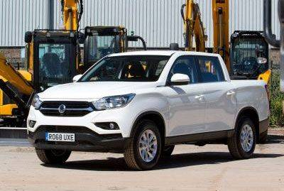 SSANGYONG MUSSO PICKS-UP 2019 WHAT CAR? AWARD