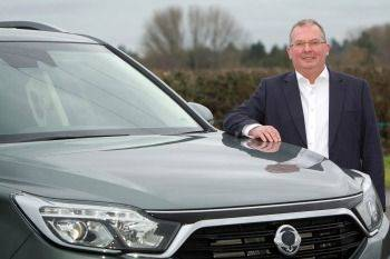 NEW MANAGING DIRECTOR FOR SSANGYONG MOTOR UK
