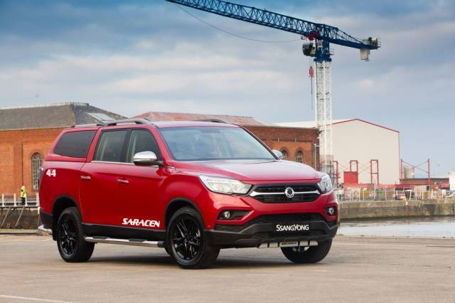 TIP-TOP - FIVE NEW HARD TOPS INTRODUCED FOR THE SSANGYONG MUSSO PICK-UP
