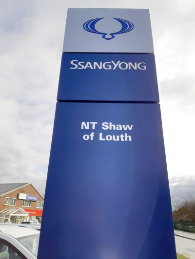 SSANGYONG APPOINTS NEW DEALER FOR LOUTH