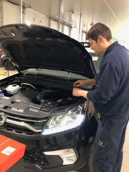 SSANGYONG MOTORS UK LAUNCHES LIGHT VEHICLE APPRENTICESHIP PROGRAMME