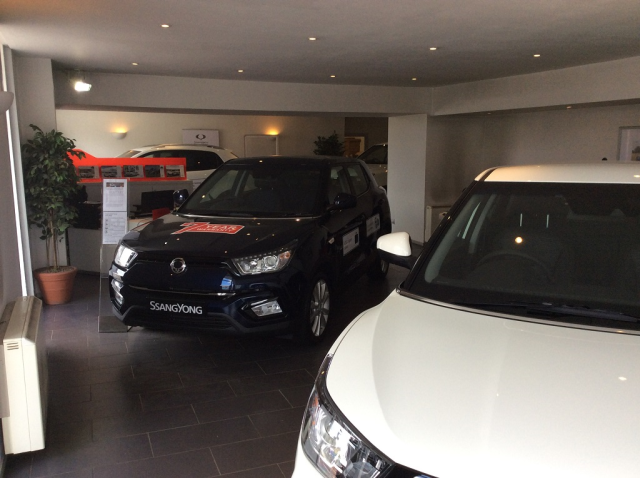 SSANGYONG APPOINTS NEW DEALER FOR COLDSTREAM