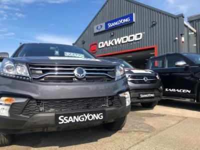 SSANGYONG EXPANDS NETWORK FURTHER AS IT WELCOMES OAKWOOD SSANGYONG TO THE FRANCHISE