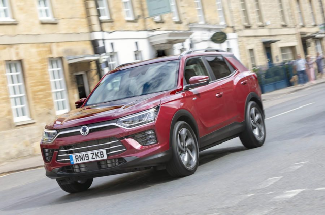 THE ALL-NEW SSANGYONG KORANDO GAINS 5-STAR EURO NCAP RATING