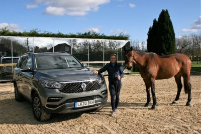 OLYMPIAN PIPPA FUNNELL MBE DEMONSTRATES IMPRESSIVE HORSEPOWER WITH THE NEW SSANGYONG REXTON