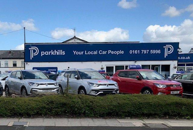 NEW DEALER ANNOUNCEMENT FOR SSANGYONG MOTORS - PARKHILLS IN BURY