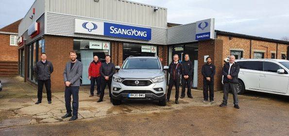 SSANGYONG WELCOMES GRAYS OF HOLBEACH TO THE FAMILY