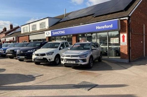 SSANGYONG MOTORS UK APPOINTS NEW DEALER IN HEREFORD
