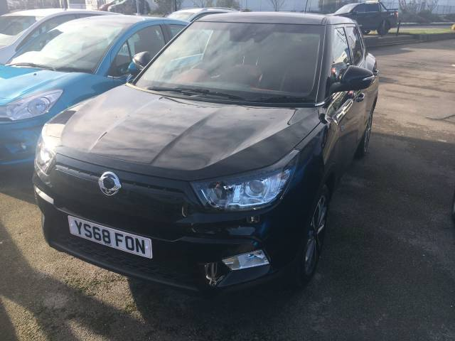 2018 SsangYong Tivoli 1.6 D ELX Auto - Red Leather Upgrade