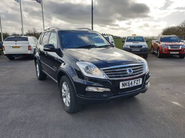 SsangYong Rexton 2.0 REXTON CS Four Wheel Drive Diesel Black