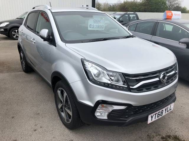 SsangYong Korando 2.2 ELX 4x4 Auto 5dr - Tow Bar Fitted Four Wheel Drive Diesel Silver at SsangYong GB Luton