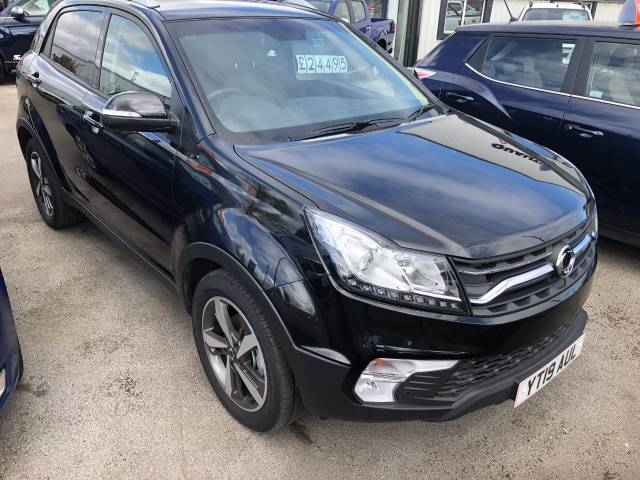 SsangYong Korando 2.2 ELX 4x4 Auto 5dr Four Wheel Drive Diesel Black at SsangYong GB Luton