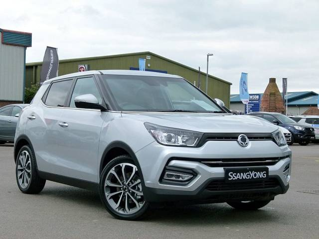 SsangYong Tivoli Ultimate 1.6i 5Dr Hatchback Petrol Silver at SsangYong GB Swindon