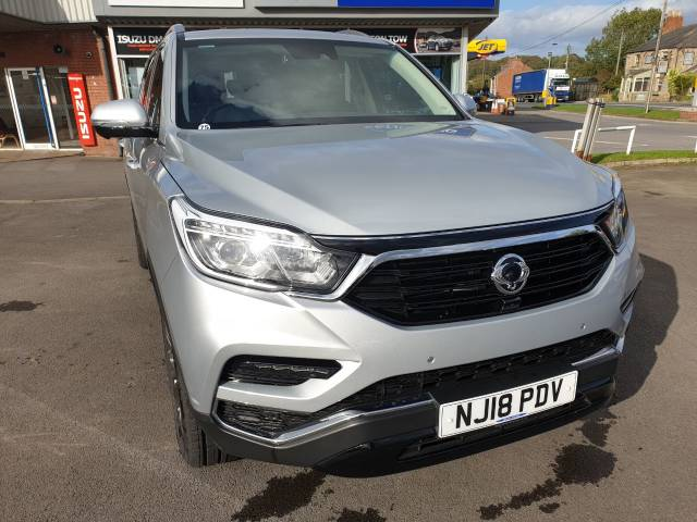 SsangYong Rexton 2.2 Ultimate 5dr Auto Estate Diesel Silver at SsangYong GB Luton