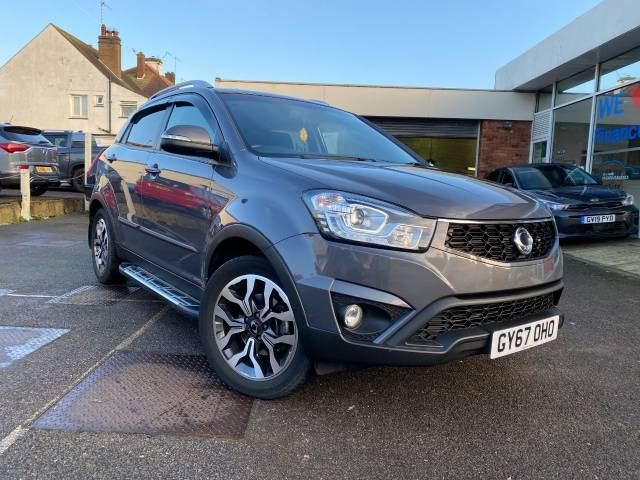 SsangYong Korando 2.2 ELX 4x4 Auto 5dr Estate Diesel Grey at SsangYong GB Luton