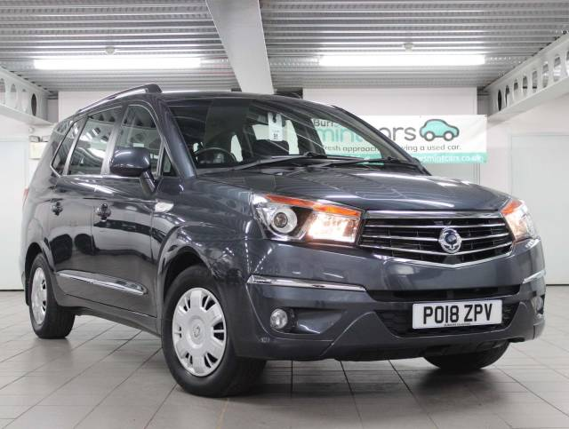 SsangYong Turismo 2.2D SE 5dr MPV Diesel Grey at SsangYong GB Luton