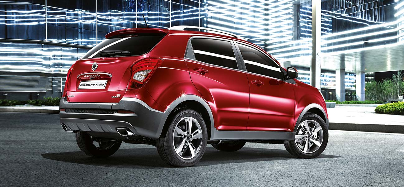 ssangyong korando the new 4x4 crossover car suv uk. Black Bedroom Furniture Sets. Home Design Ideas