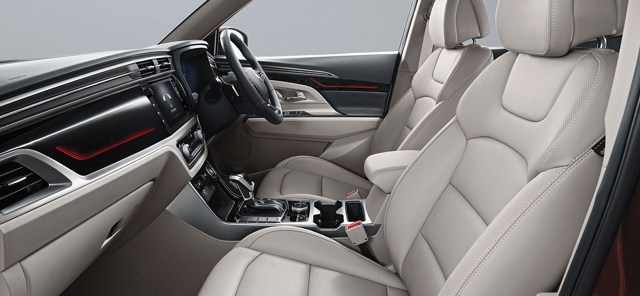 new-korando - Interior