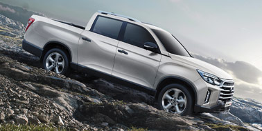 Register your interest for the SsangYong Musso