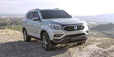 Register your interest for the new SsangYong Rexton