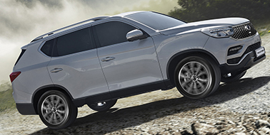 Request a brochure for the SsangYong Rexton