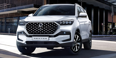 Register your interest for the SsangYong Rexton