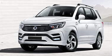 Request a brochure for the SsangYong Turismo