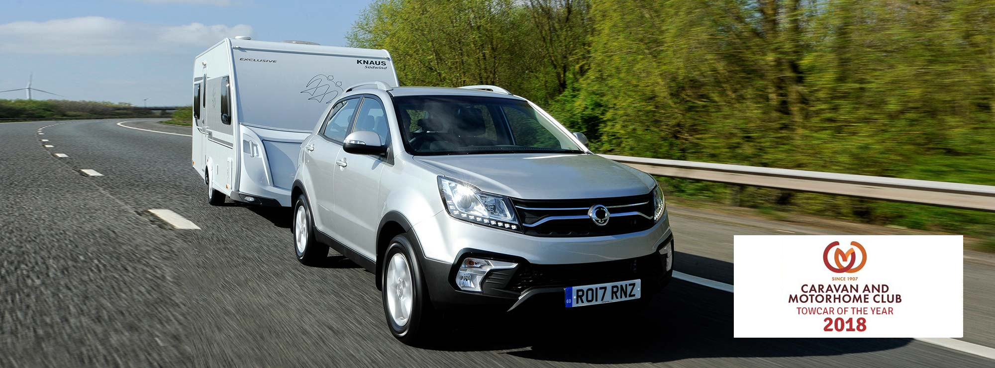 SsangYong Towing